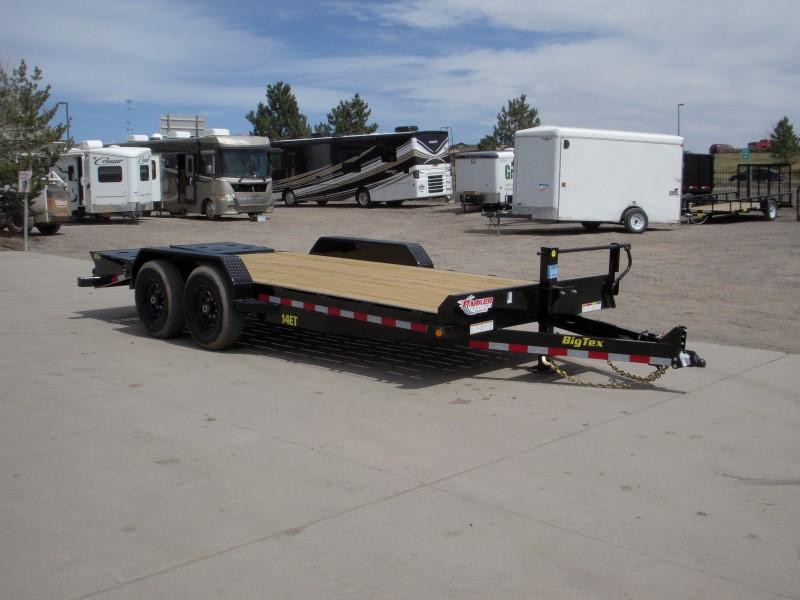 2018 Big Tex Trailers 14ET-18BK-MR Flatbed Trailer