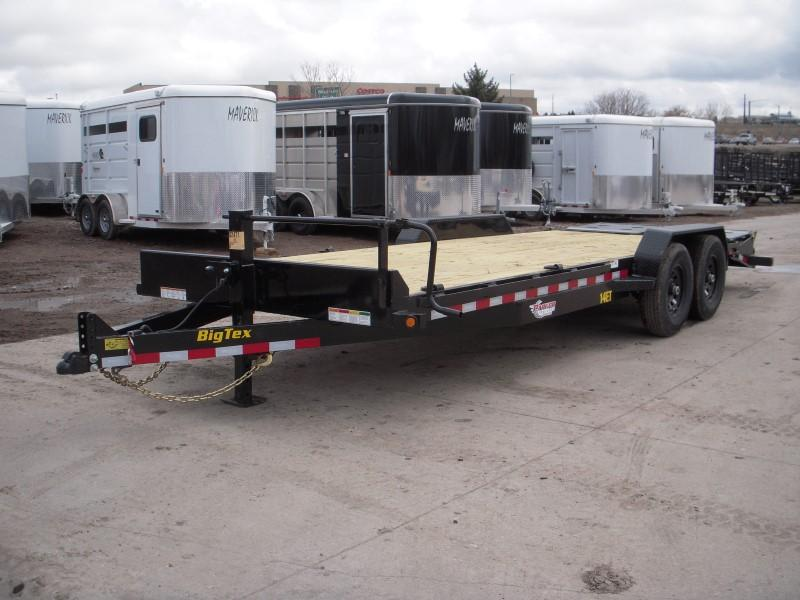 2019 Big Tex Trailers 14ET-22MR Flatbed Trailer