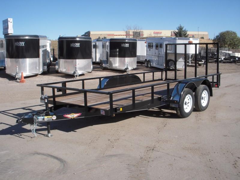 2018 H&H H8216TRS-070 Utility Trailer