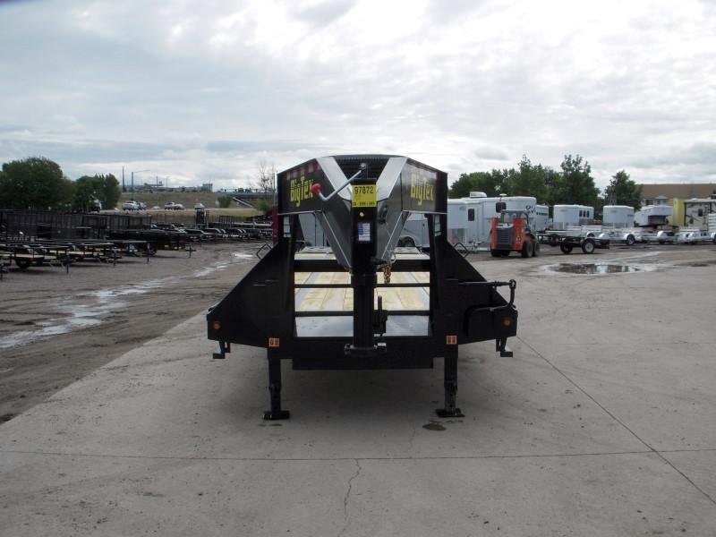 2018 Big Tex Trailers 22GN-30BK+5MR Flatbed Trailer