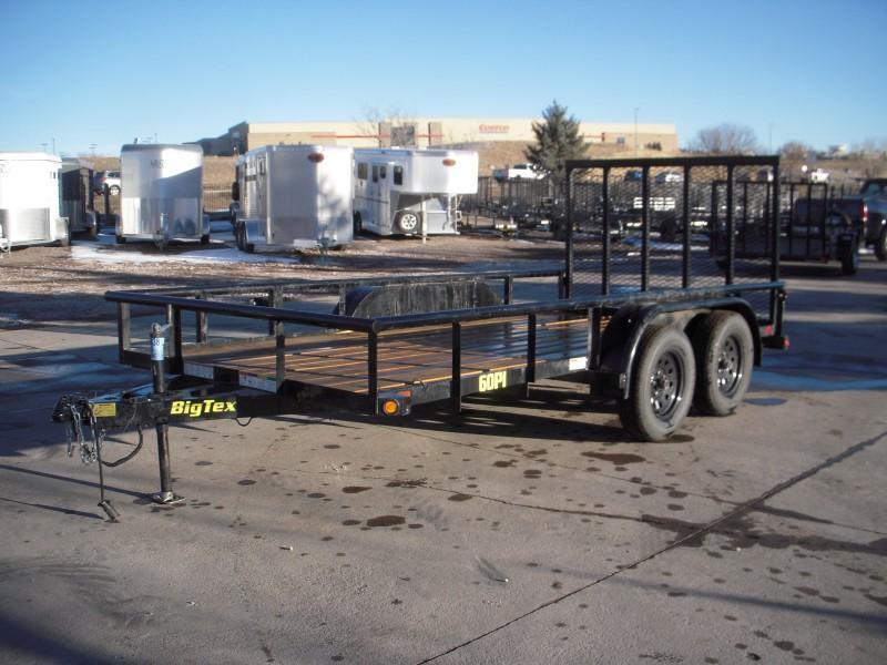 2019 Big Tex Trailers 60PI-14BK4RG Utility Trailer