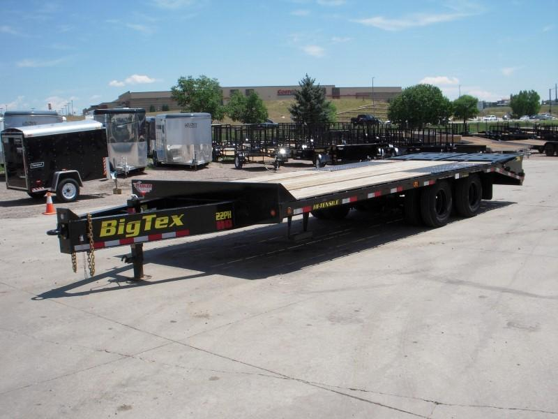 2018 Big Tex Trailers 22PH-20BK+5MR Flatbed Trailer