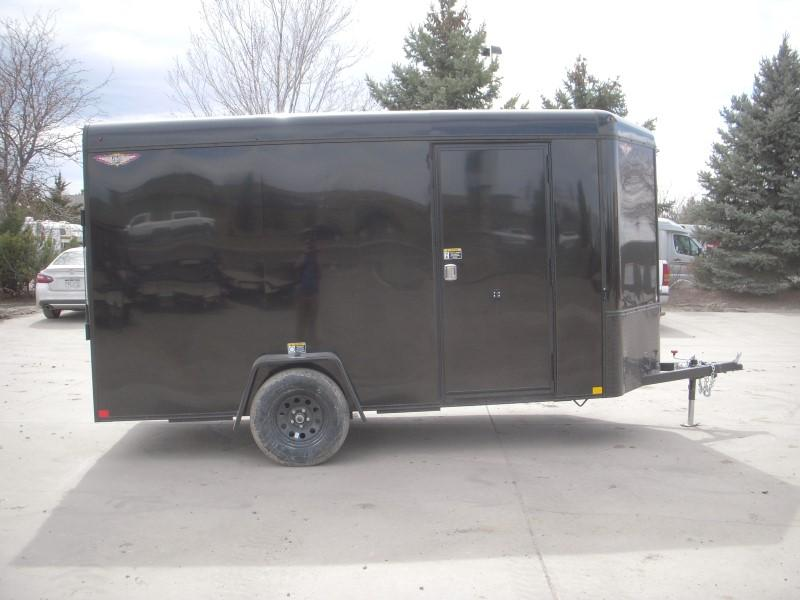 2019 H&H H7212SRTV-035 Enclosed Cargo Trailer