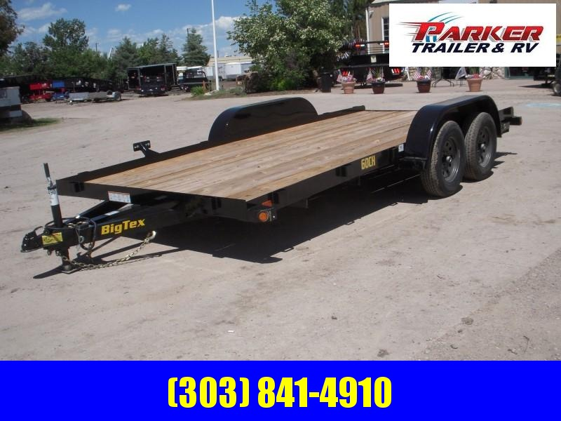 2020 Big Tex Trailers 60CH-16BK Flatbed Trailer