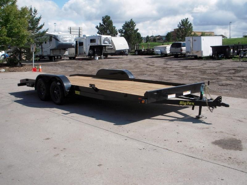2019 Big Tex Trailers 70CH-20BKDT Flatbed Trailer