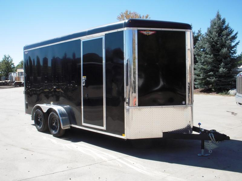 2018 H&H H8416TRTV-070 Enclosed Cargo Trailer