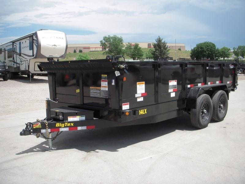 2020 Big Tex Trailers 14LX-16LX7SIRPD Dump