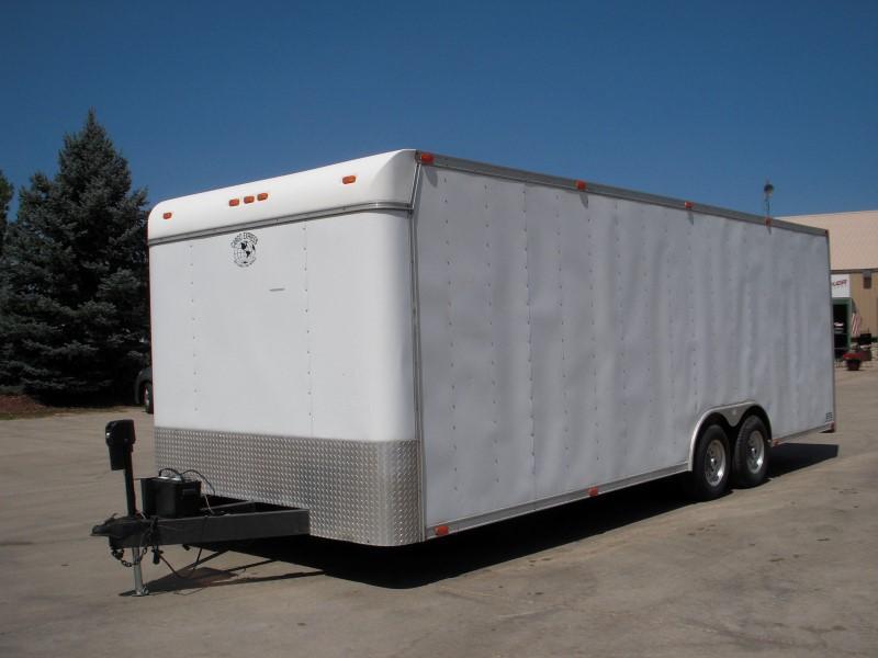 2000 CARGO EXPRESS STE 8.5X24 Enclosed Cargo Trailer