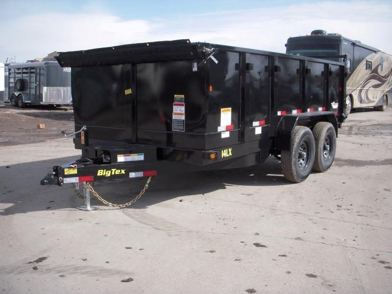 2019 Big Tex Trailers 14LX-14BK-P3 Dump
