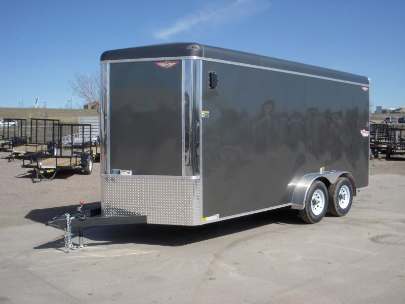 2018 H&H H8416TRTV-100 Enclosed Cargo Trailer