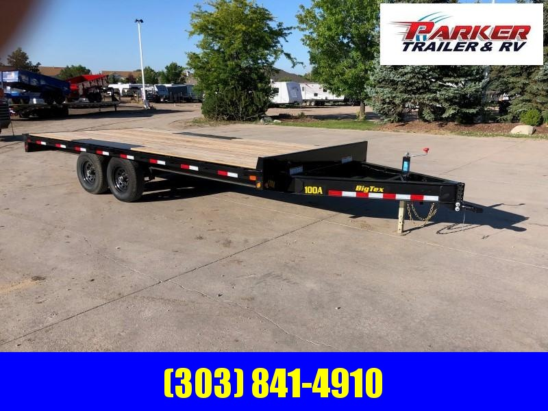 2020 Big Tex Trailers 10OA-18BK-8SIR Flatbed Trailer