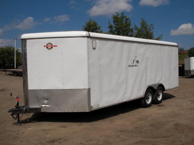 2015 Carry-On 8.5X20CGR Enclosed Cargo Trailer