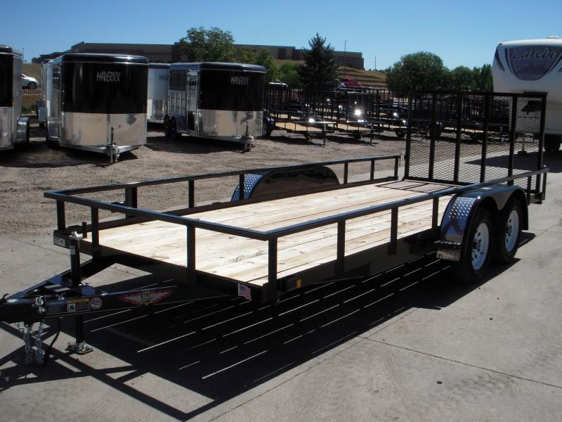 2018 H&H H8218TRS-070 Utility Trailer