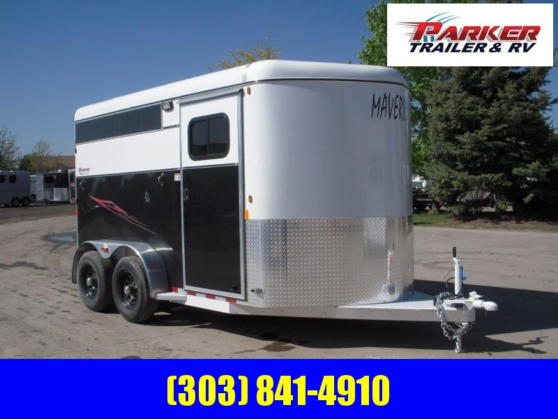 2019 Maverick MAV2 DX FEED AL Horse Trailer