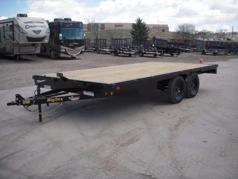 2019 Big Tex Trailers 70OA-16 Flatbed Trailer