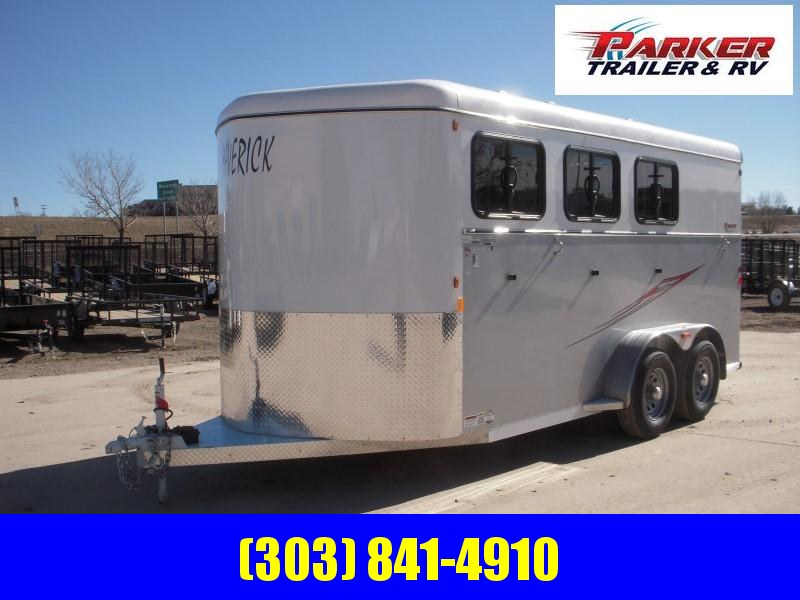2019 Maverick MAV3 DX FEED AL Horse Trailer