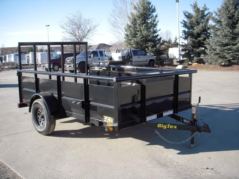 2018 Big Tex Trailers 35SV-10BK Utility Trailer