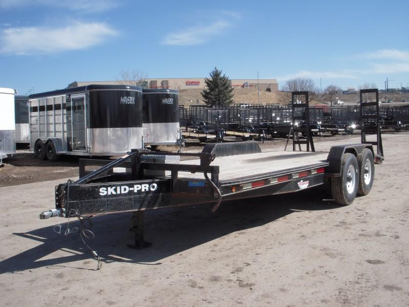 2003 RCM 7X20 EQUIPMENT Flatbed Trailer