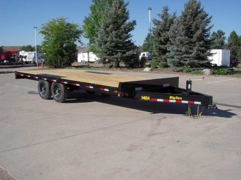 2020 Big Tex Trailers 14OA-20BK-8SIR Flatbed Trailer
