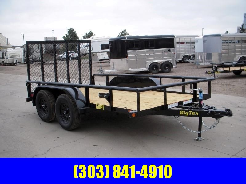 2019 Big Tex Trailers 60PI-12BK4RG Utility Trailer