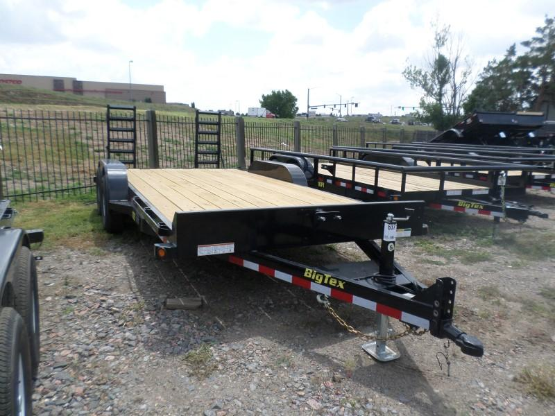 2017 Big Tex Trailers 10ET-18BK-KR Flatbed Trailer