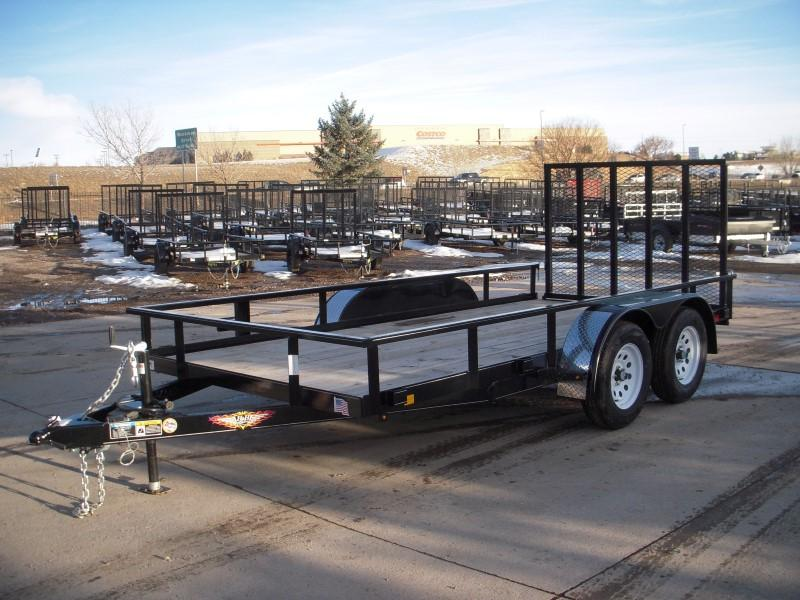 2019 H&H H7614TRS-070 Utility Trailer