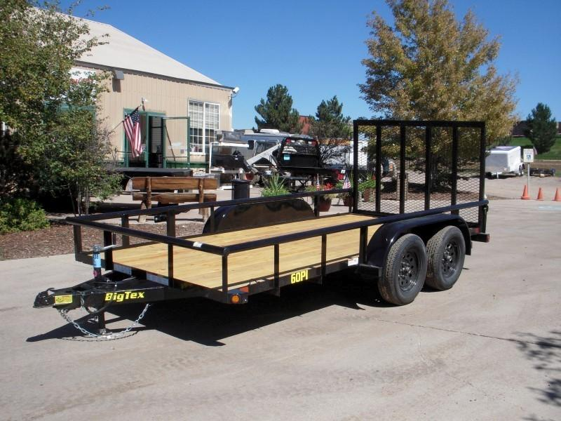 2019 Big Tex Trailers 60PI-14BK4RG Utility Trailer