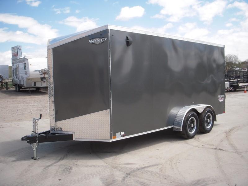 2020 IMPACT ITT716TA2 Enclosed Cargo Trailer