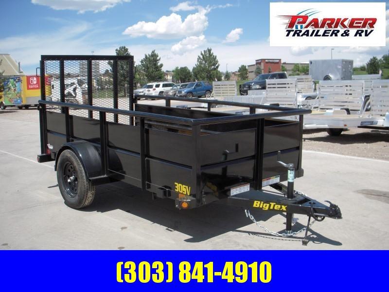 2020 Big Tex Trailers 30SV-10BK Utility Trailer