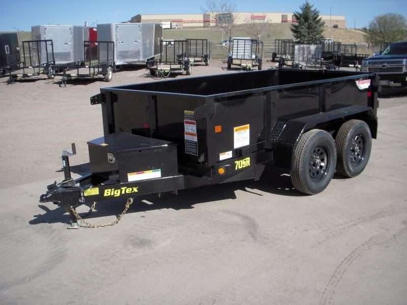 2018 Big Tex Trailers 70SR-10-5WDD Dump