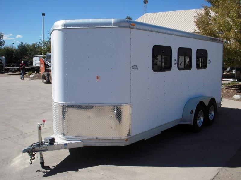 2001 Featherlite 3HBP Horse Trailer