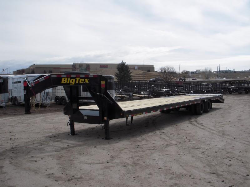 2019 Big Tex Trailers 25GN-35BK+5MR Flatbed Trailer