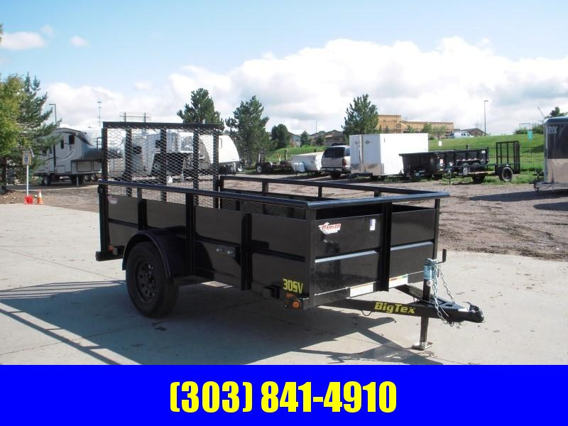 2019 Big Tex Trailers 30SV-10BK Utility Trailer