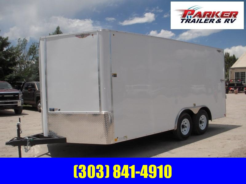 2019 H&H H10116TFTV-100 Enclosed Cargo Trailer