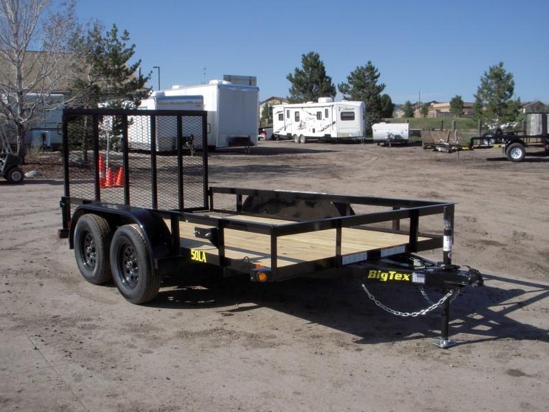 2019 Big Tex Trailers 50LA-12BK4RG Utility Trailer