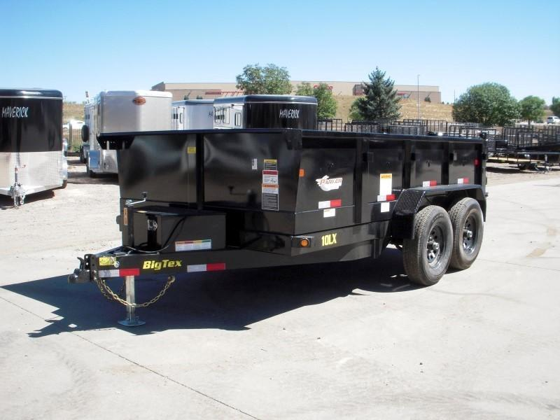 2019 Big Tex Trailers 10LX-12BK7SIRPD Dump