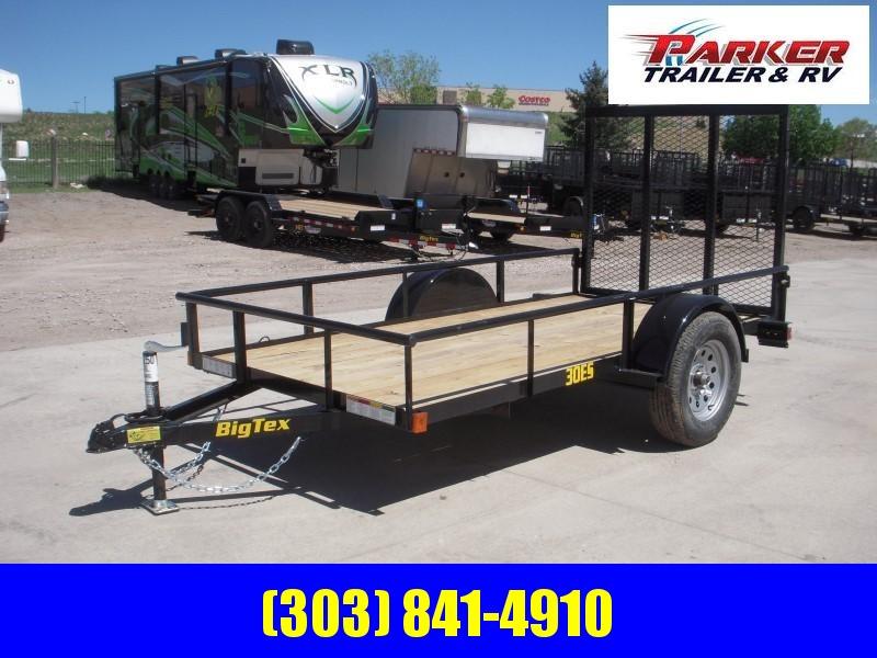 2020 Big Tex Trailers 30ES-10BK4RG Utility Trailer