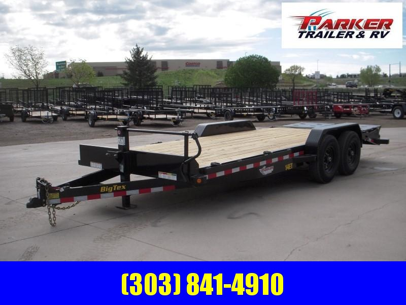 2020 Big Tex Trailers 14ET-20BK-MR Flatbed Trailer