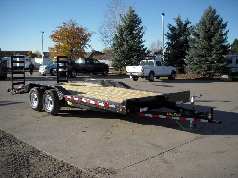 2017 Big Tex Trailers 10DF-18BK Flatbed Trailer