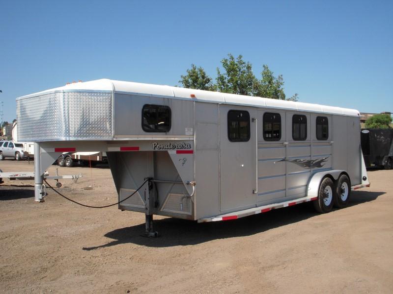 2005 PONDEROSA 4HGNSNT Horse Trailer