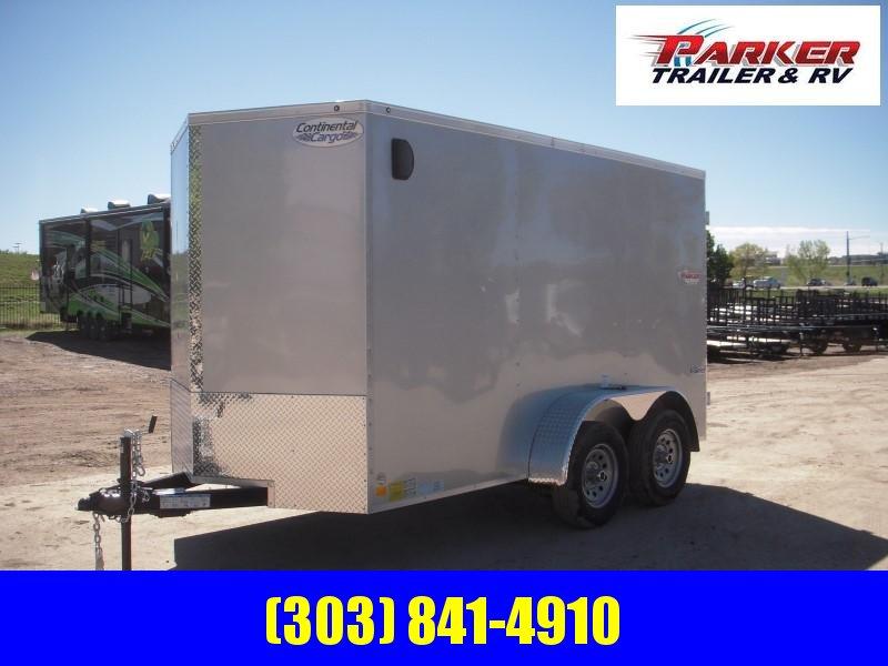 2020 CONTINENTAL CARGO TXEH612TA2 Enclosed Cargo Trailer