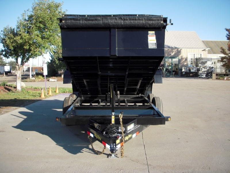 2018 Big Tex Trailers 14LX-12BK7SIRPD Dump