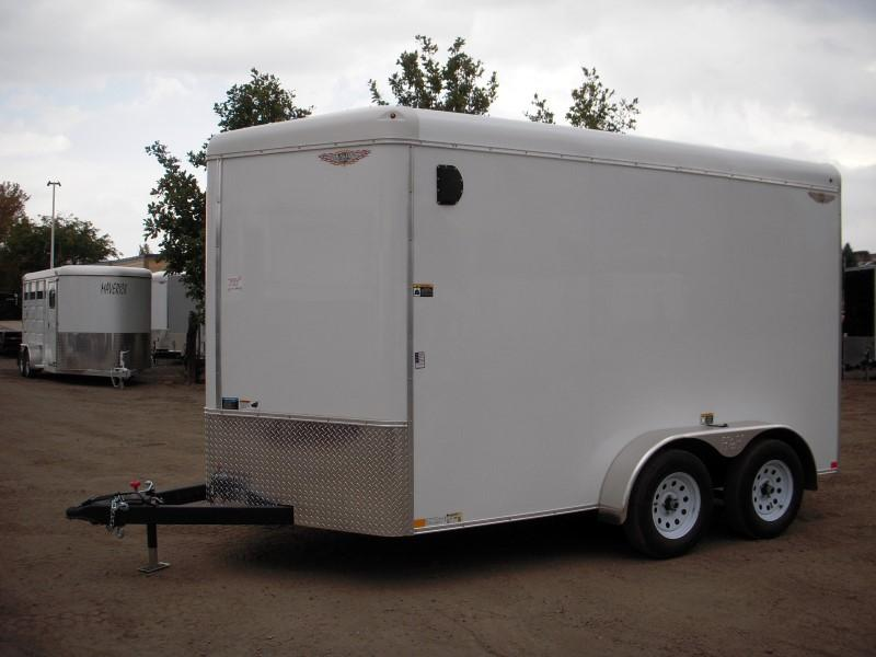 2019 H&H H8412TRTV-070 Enclosed Cargo Trailer