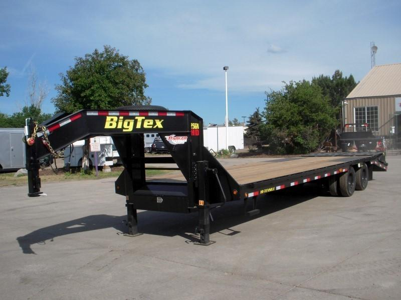2019 Big Tex Trailers 25GN-25BK+5MR Flatbed Trailer