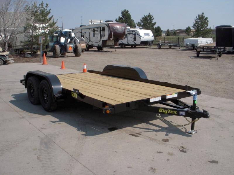 2018 Big Tex Trailers 60CH-14 Flatbed Trailer