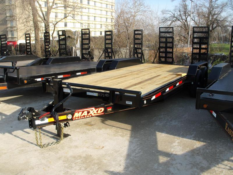 Equipment Trailer 83 X 20 Dove 14000 GVW Combo Ramps