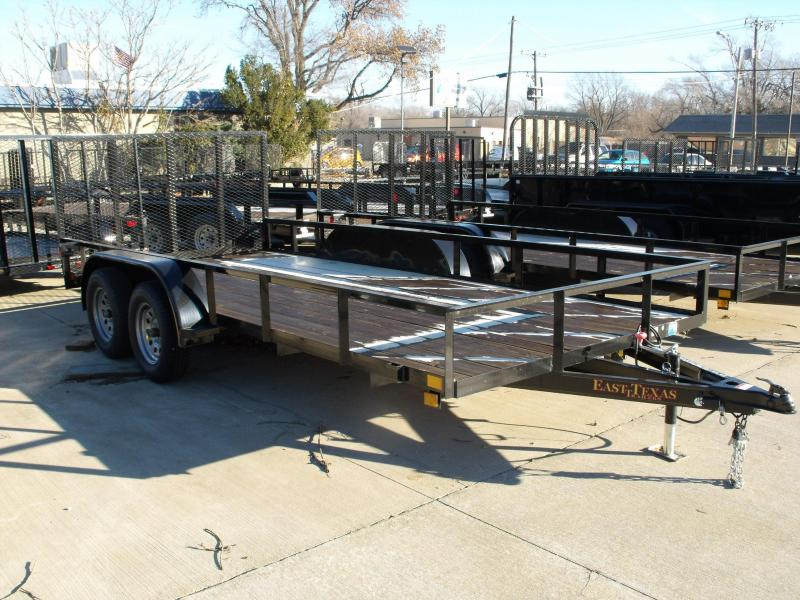 Utility Trailer 83 X 16 Ramp Tandem Axle Ramp And Brakes((CASH SAVINGS OFFER )))