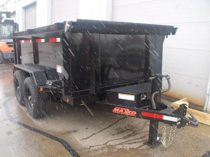Dump Trailer 6 X 10 Highwall 3' Walls  14000 GVW  3 WAY GATE