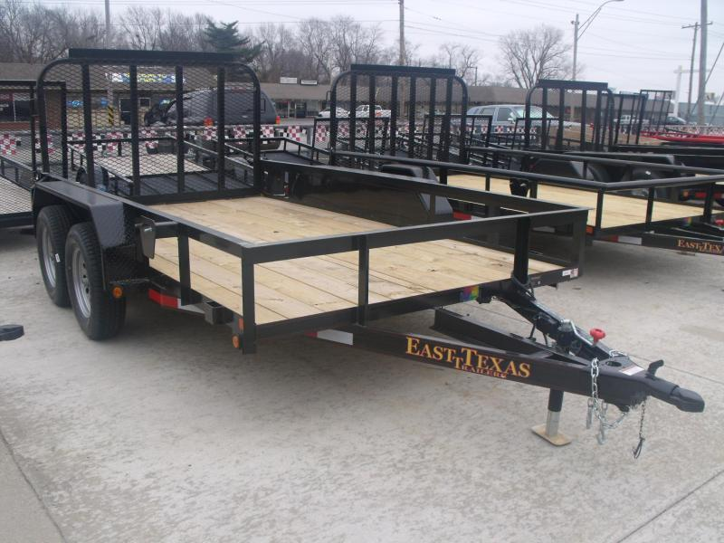 Utility Trailer  77 X 12 Ramp    7000 GVW Brakes  ((CASH SAVING OFFER  )))