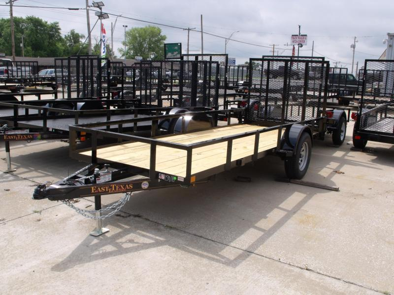 Utility Trailer 5 X 14  Spring Assisted  Ramp 2990 # Axle